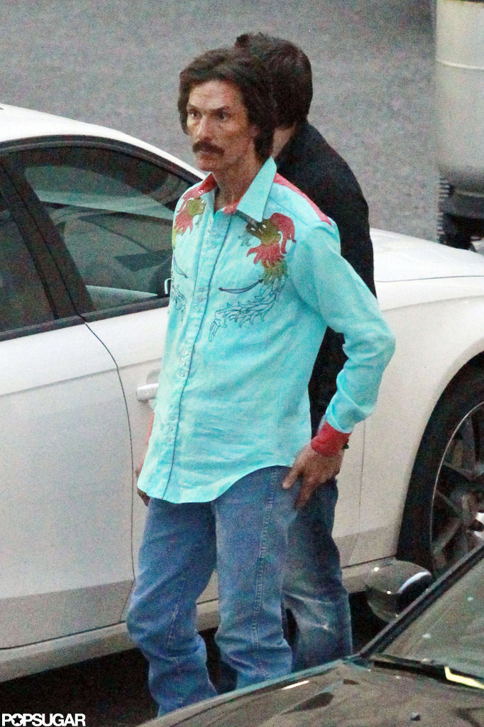 Matthew McConaughey looked frail on set.