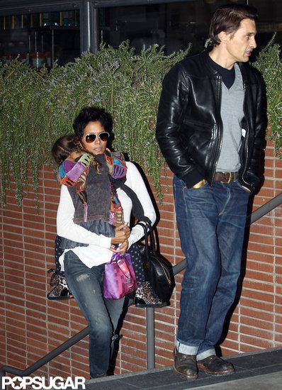 Halle Berry and Olivier Martinez Take Nahla on a Date Night