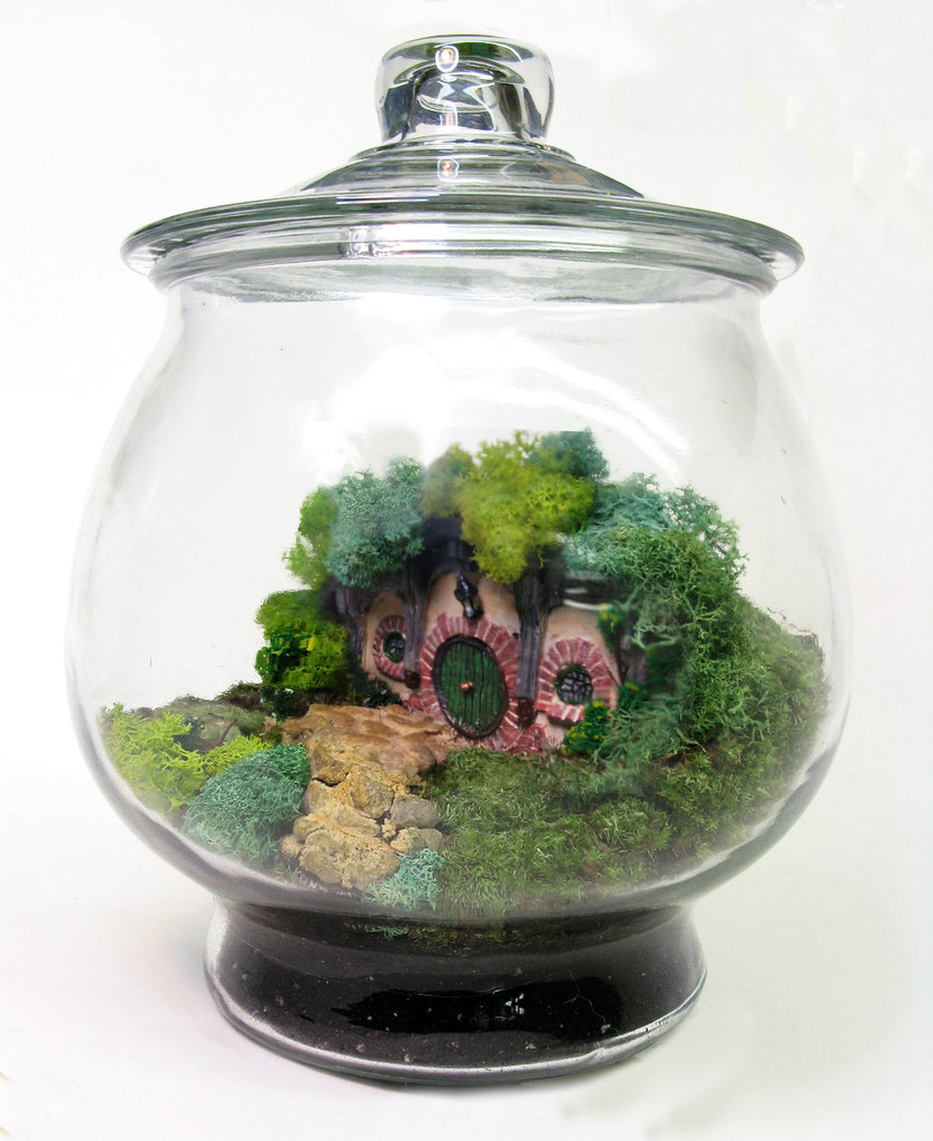 The Shire Hobbit Home Terrarium ($400)