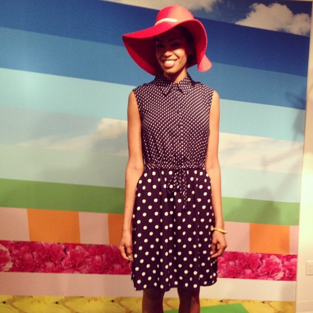 The play on polka dots in this Target look is picnic-ready.