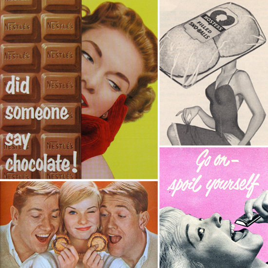 These Vintage Ad Ladies Have a Sweet Tooth
