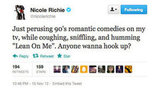 We'd still hang out with you, Nicole.