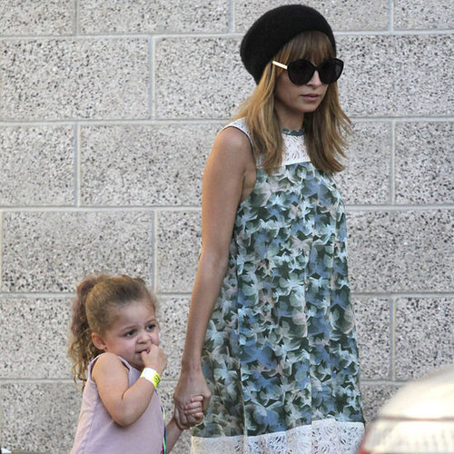 Nicole Richie Holds Hands With Harlow Madden in LA