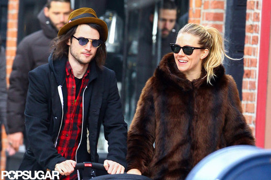 Sienna Miller and Tom Sturridge explored NYC.