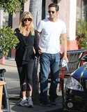 Goldie Hawn and Oliver Hudson went out to lunch on her birthday.