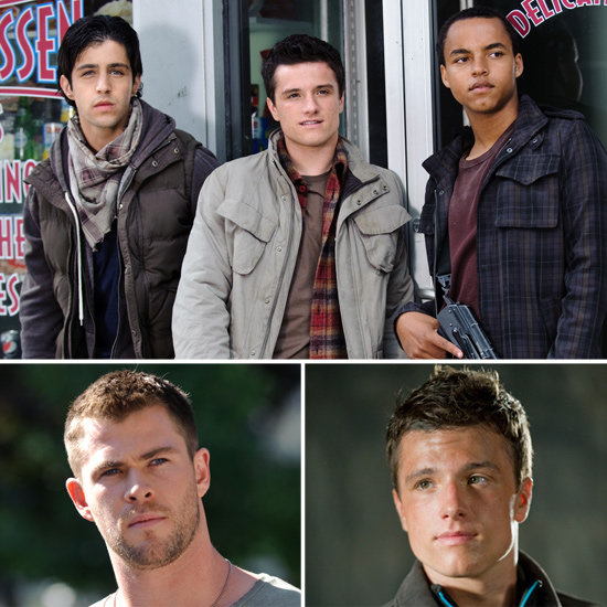See Josh Hutcherson and Chris Hemsworth in Exclusive Red Dawn Pictures