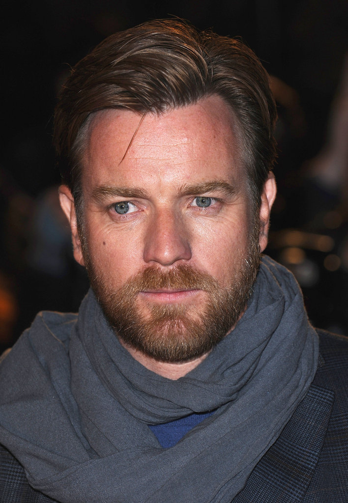 Ewan McGregor premiered his movie in London.