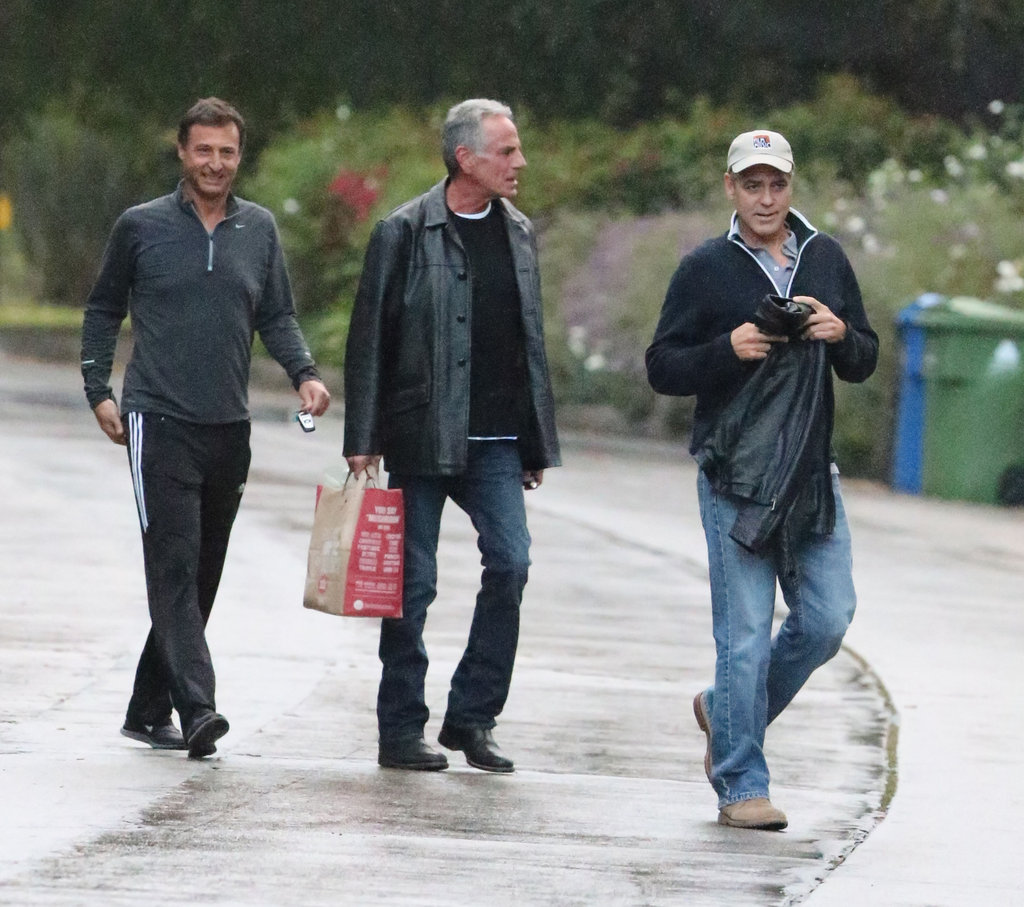 George Clooney spent some time out in LA.