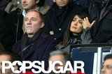 Salma Hayek and Francois-Henri Pinault focused on the match.