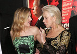 Helen Mirren and Scarlett Johansson attended the Hitchcock premiere in NYC.