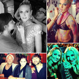 Candid Shots of Pink, Gwen Stefani, Heidi Klum, and More at the AMAs!