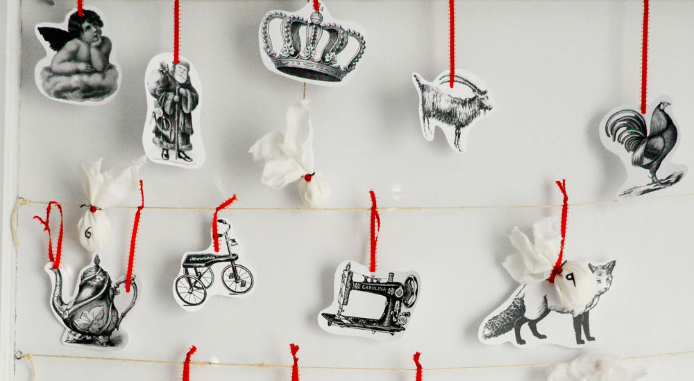 DIY: Funkytime's Vintage Advent Calendar
