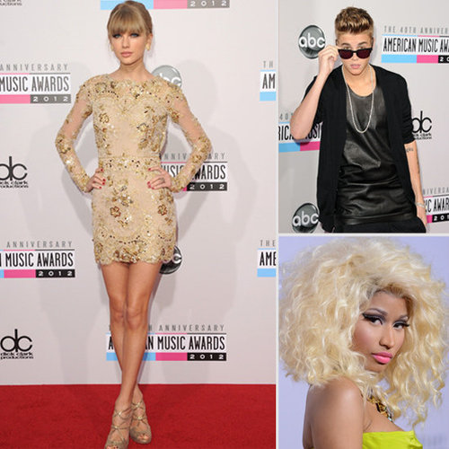 2012 America Music Awards Red Carpet Arrivals Pics