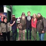 Chris Hardwick became an honorary member of the Duck Dynasty family. Source: Instagram user nerdist