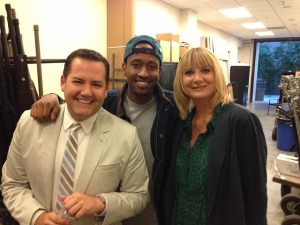Kerri Kenney hung around backstage at Chelsea Lately. Source: Twitter user KerriKenney