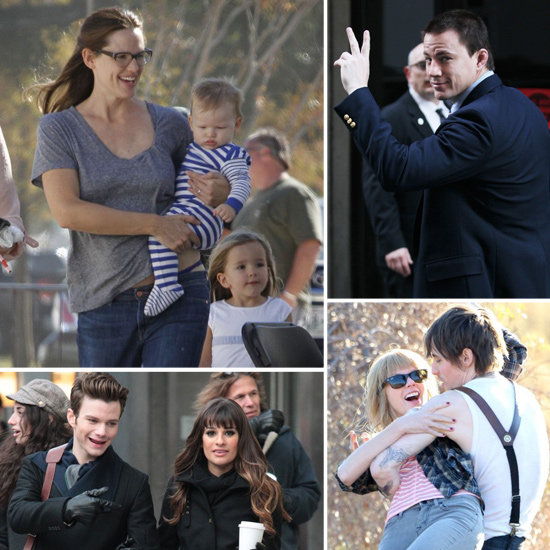 Taylor Swift, Channing Tatum, Jennifer Garner, and More Stars on Set