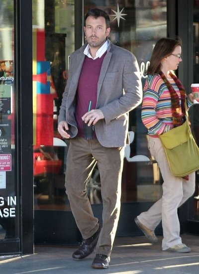Ben Affleck hit up a Starbucks to grab a drink.