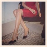 Miranda Kerr showed off her long legs. Source: Instagram user mirandakerrverified