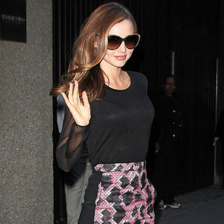 Miranda Kerr After the Victoria's Secret Show | Pictures