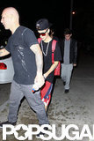 Justin Bieber stepped out in LA.