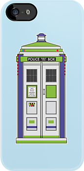 """The Space Ranger Has the Phone Box . . . """