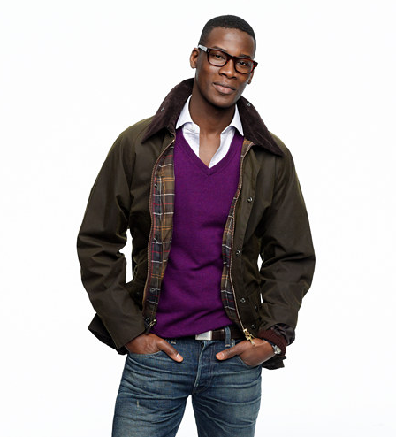 For a real investment in your guy — and his wardrobe — a Barbour Sylkoil Bedale jacket ($379) is always in style.