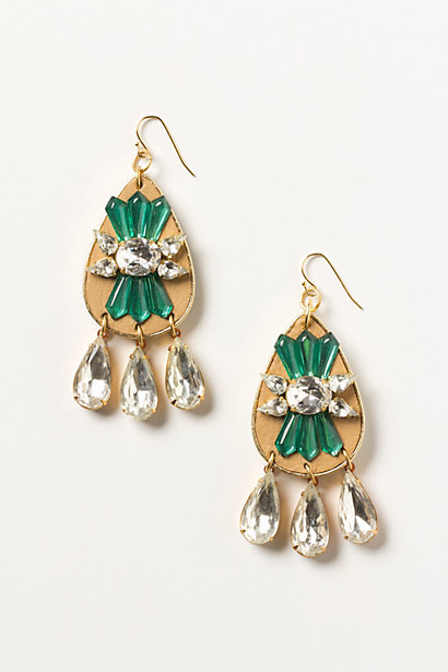 These Anthropologie Noetic Daybreak Danglers ($98) have a hint of holiday green, but you'll wear these beauties all year long, too.