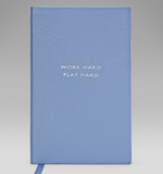 A sophisticated, timeless little Smythson notebook ($80) that's as stylish as it is handy.