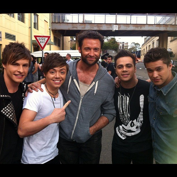 Could Hugh Jackman be the missing member of The Collective? Source: Instagram user juliandevizio
