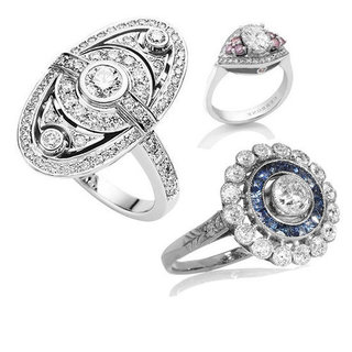 Top Ten Art Deco Engagements Rings