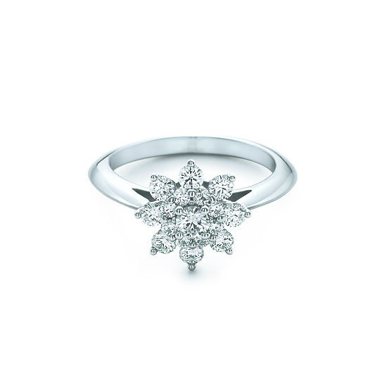 Diamond ring, $5,600, Tiffany & Co