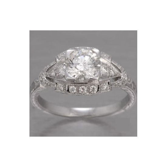 1.02 karat diamond ring, approx $4000, Fay Cullen