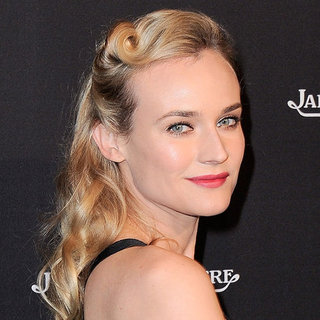 Copy Diane Kruger's Victory Hair Roll