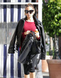 Nicole Richie carried a Balenciaga bag.