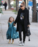 Nicole Richie wore a Givenchy hoodie.
