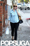 Reese Witherspoon ran errands.