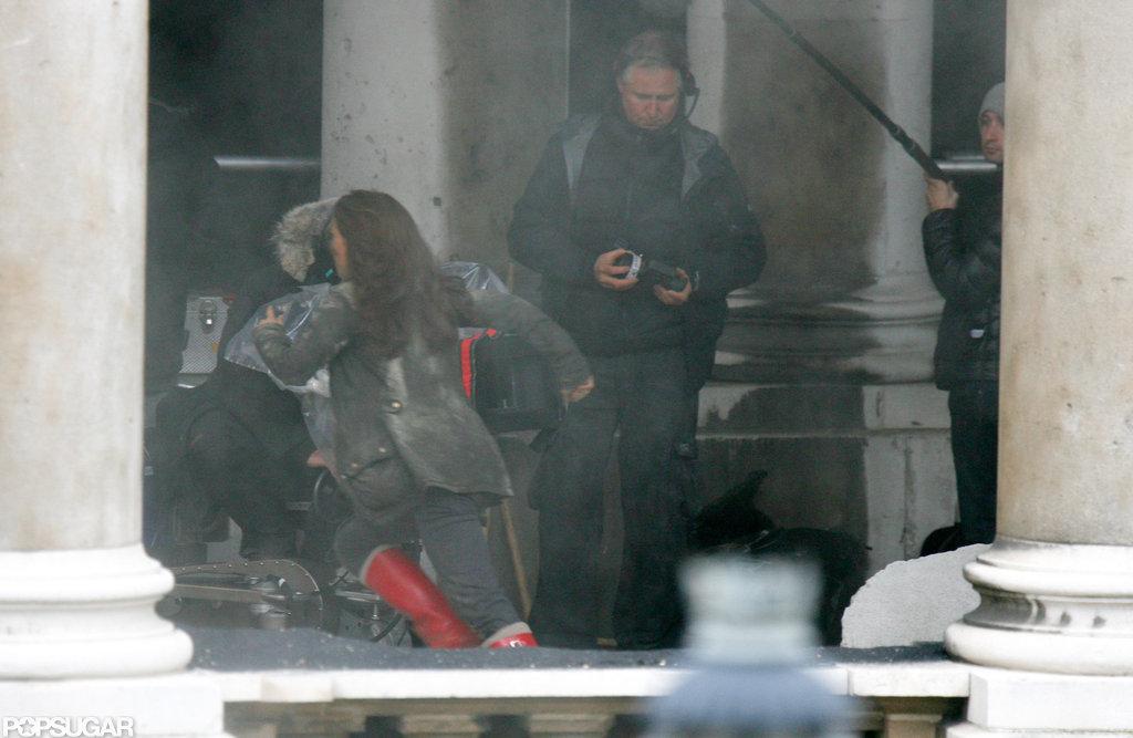 Natalie Portman filmed scenes in London.