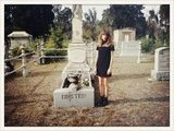 Alexa Chung paid her respects at Einstein's grave.  Source: Twitter User Alexa_Chung