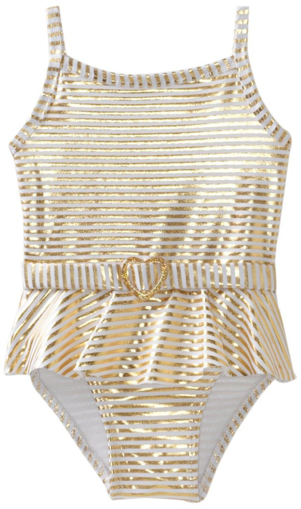 Penelope Mack 24K Gold Swimsuit