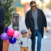 Miranda Kerr and Flynn Bloom on Thanksgiving