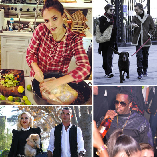 How the Stars Celebrated Thanksgiving