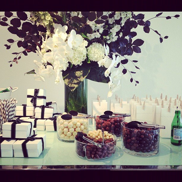 Avoiding this spread at the French Connection A/W '13 showing took some seriously strong willpower.