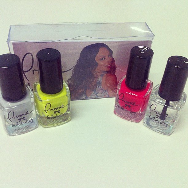 Remember Prinnie Stevens from The Voice? She's collaborated with Hello Darling to release her own line of nail polish!
