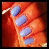 Alison was feeling pastels when she tried this Essie polish. The shade? Bikini So Teeny.