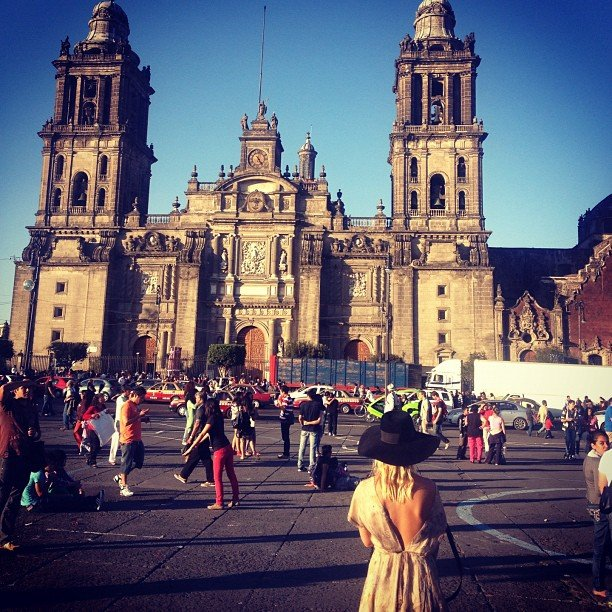 Lara Bingle shared a snap from her trip to Mexico City. Source: Instagram user mslbingle