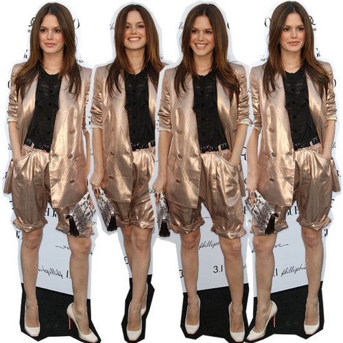 Steal Rachel Bilson's Iconic Phillip Lim Short Suit Look: