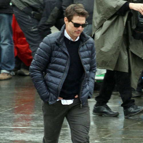 Tom Cruise Goes to Work After Thanksgiving With Suri Cruise