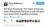 Rove puts it perfectly when paying his respects to the late and legendary author Bryce Courtenay.