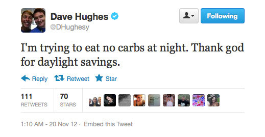 Something tells us Dave Hughes' plan might not work. . .