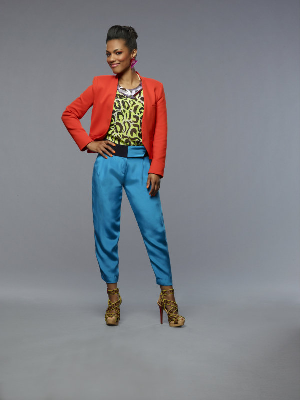 Freema Agyeman as Larissa on The Carrie Diaries.